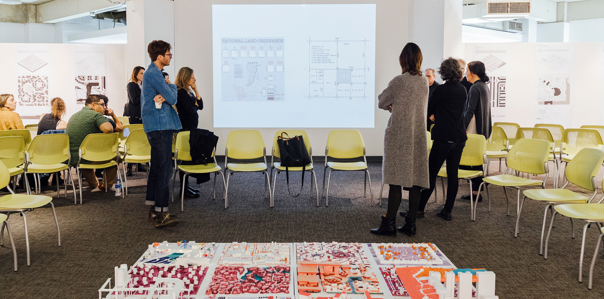 First-year studio final review, Spring 2019