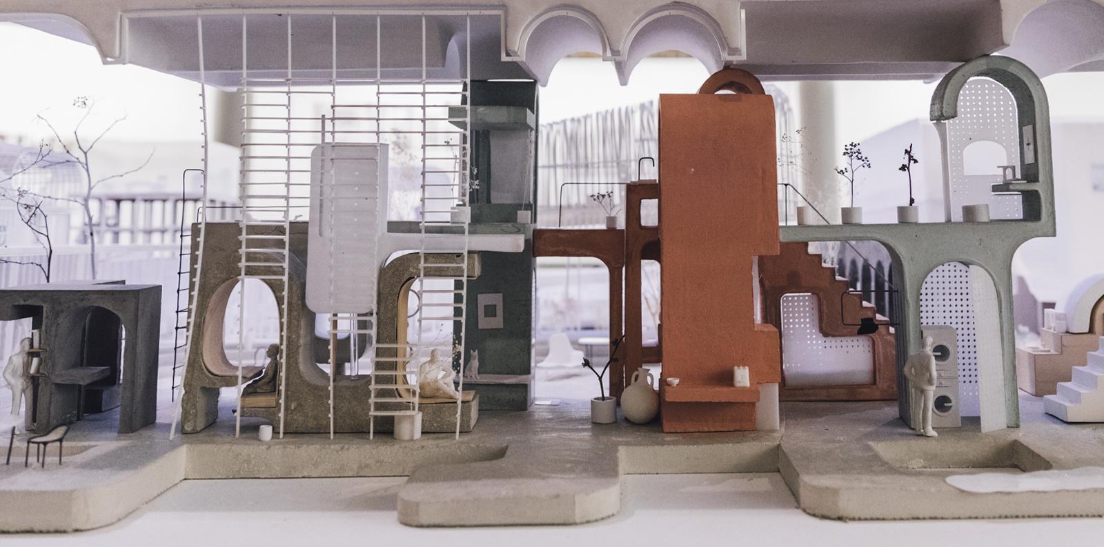 Esau Hernandez. Concrete Living Units, 2018