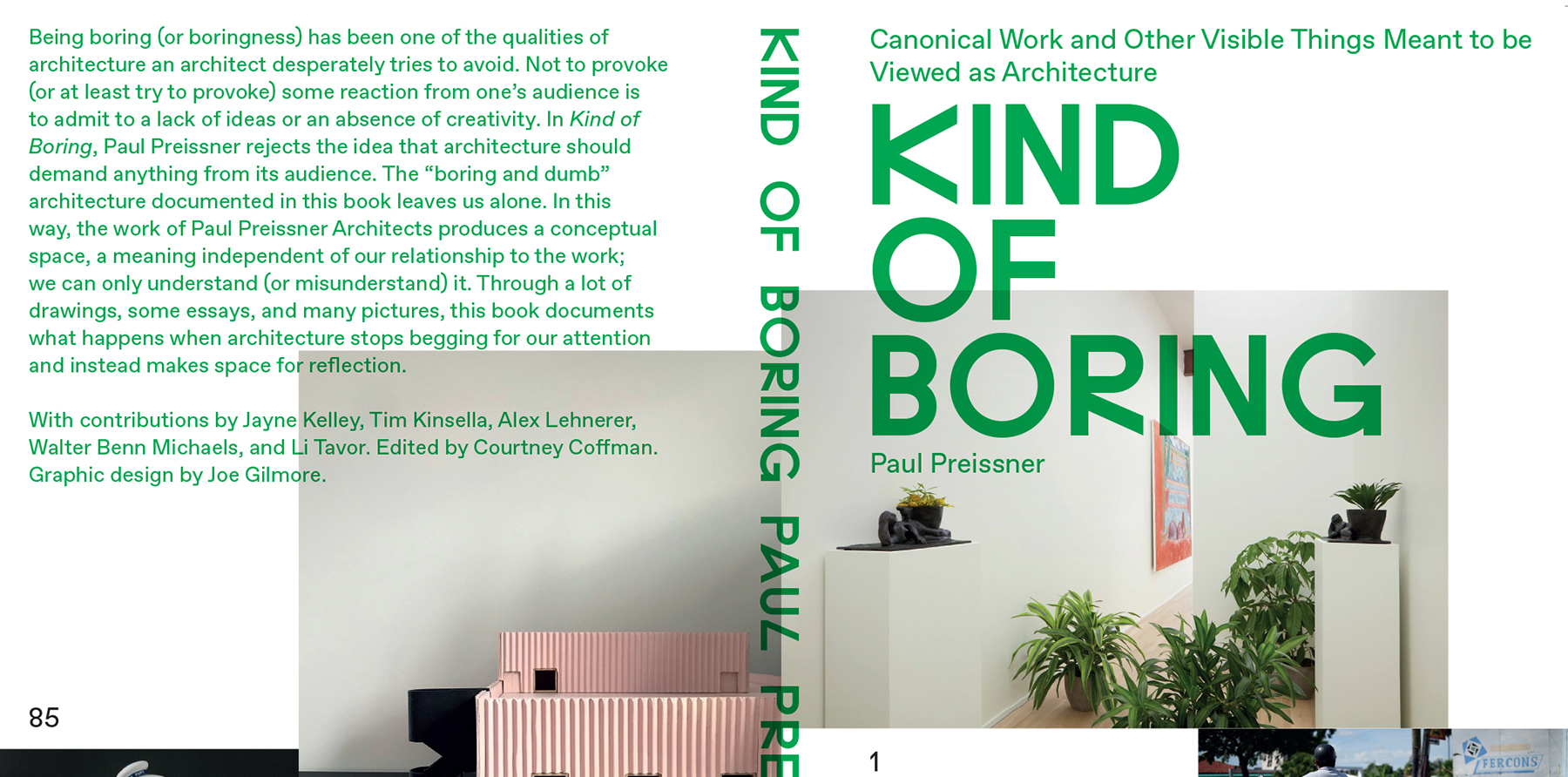 Cropped image of Kind of Boring cover