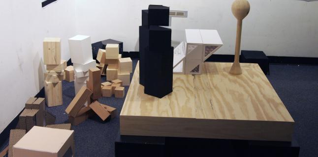 First Year Fall Undergraduate Studio, Judith De Jong, UIC School of Architecture, 2014