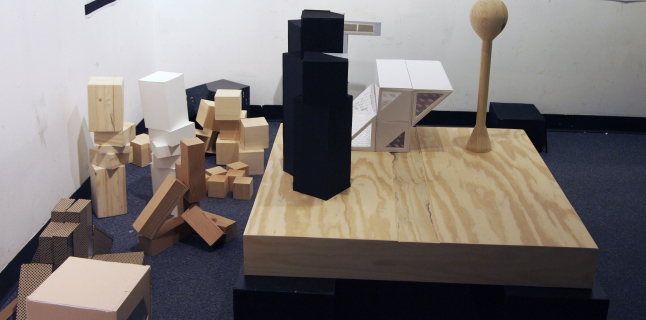 First Year Fall Undergraduate Studio, Judith De Jong, UIC School of Architecture, 2014