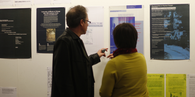 Tales from the Crypt, Archive exhibition, UIC School of Architecture, Jayne Kelley