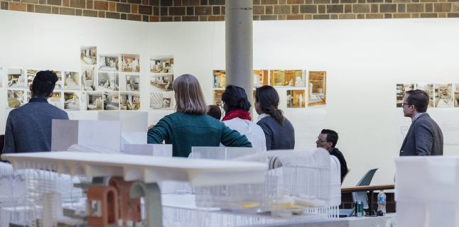 School of Architecture final reviews, December 2018