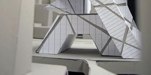 Second Year Fall Undergraduate Studio, Stewart Hicks, UIC School of Architecture, 2014
