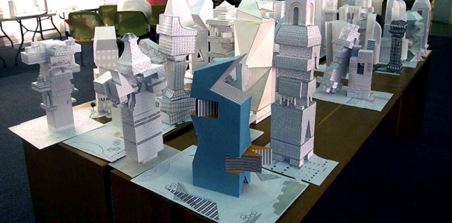 Second Year Fall Undergraduate Studio, Stewart Hicks, UIC School of Architecture, 2014