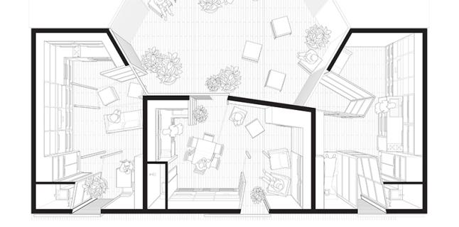 Xavier Vendrell, Fourth Year Spring Undergraduate Topic Studio, UIC School of Architecture, 2015