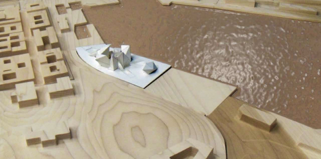 Michael Grochola, Third Year Graduate Topic Studio, Jose Oubrerie, UIC School of Architecture, Fall 2014