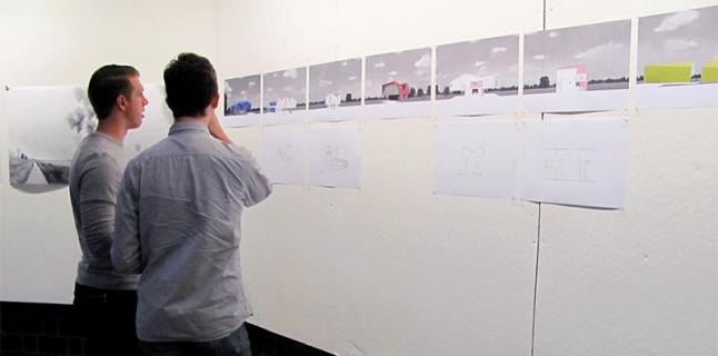 UIC School of Architecture, Architecture Faculty Exhibition, Figure, Cappomaggi, Kelley, Palider, Flohr, Slowik