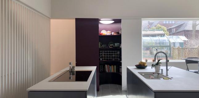 CAMESgibson. Minor Residence kitchen, 2019