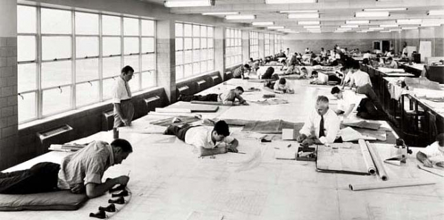 Ford Motors bomber factory by Albert Kahn Associates