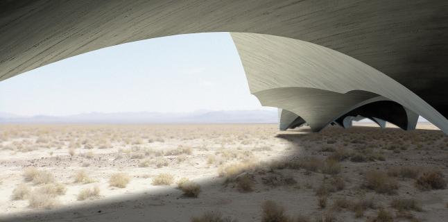 UrbanLab, Flood Death Valley Aqueduct