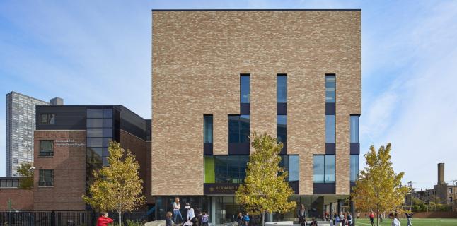 Wheeler Kearns Architects. Bernard Zell Anshe Emet Day School, 2019