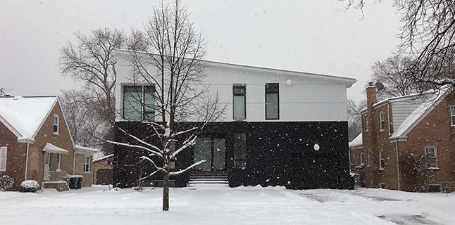 Paul Preissner. Liz and Morris House