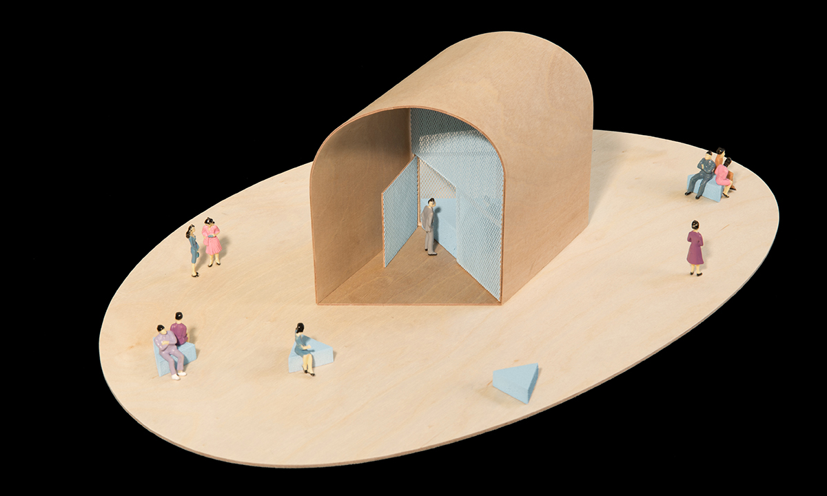 Summer Vault Kiosk by UIC School of Architecture